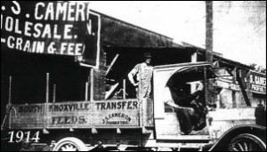 1914 Moving Company Truck Knoxville TN