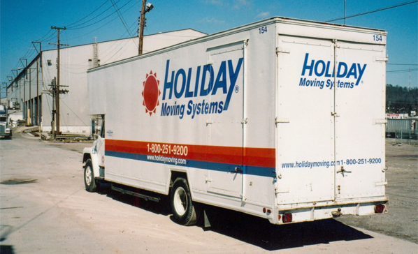 Knoxville Moving Company Van