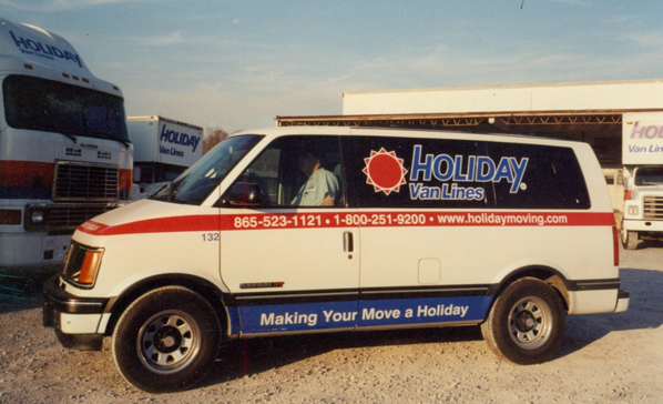 American Holiday Moving Van Knoxville, TN